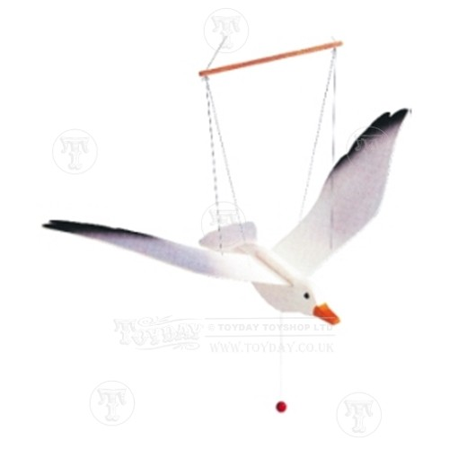 Baby Toys Wooden Flying Seagull