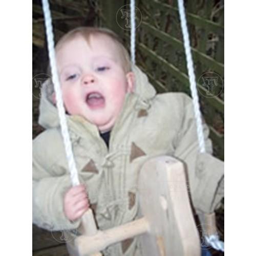 Wooden Horse Baby Swing