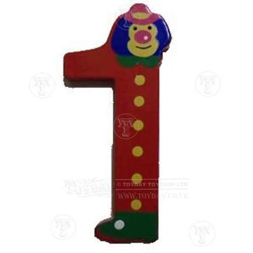 Wooden Clown Number 1