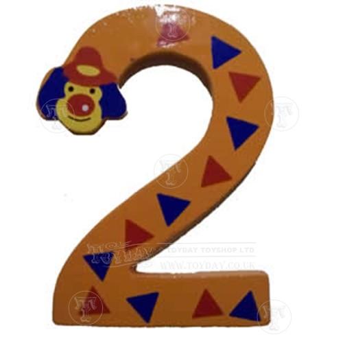 Wooden Clown Number 2