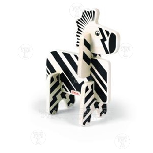 Zebra Stacking Puzzle