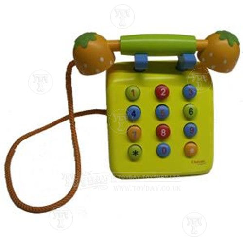 Wooden Play Telephone