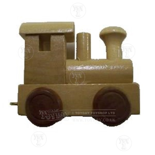 Wooden train front carriage