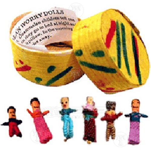 Guatemalan Trouble Dolls - Traditional Toys