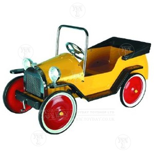 Classic Harry Yellow Pedal Car