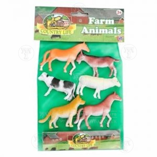 Plastic Farm Animals - Play Figures - Traditional Toys