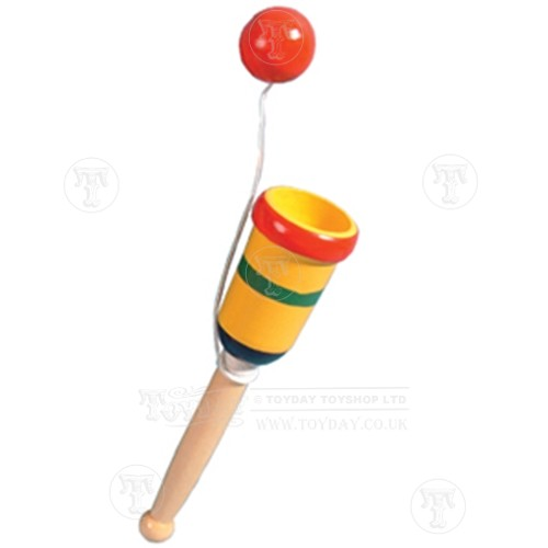 Cup And Ball Game Wooden Toys